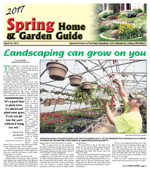 Spring Home and Garden Guide 2017-04-25