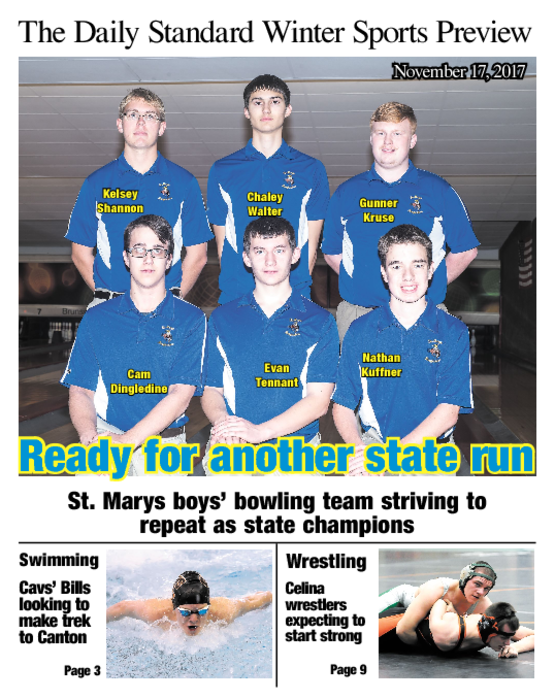 Winter Sports Preview 2017-18 - Swimming, Wrestling, Bowling