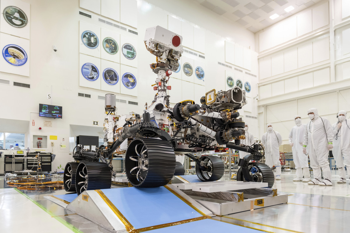 NASA's new Mars rover gets a name - Perseverance