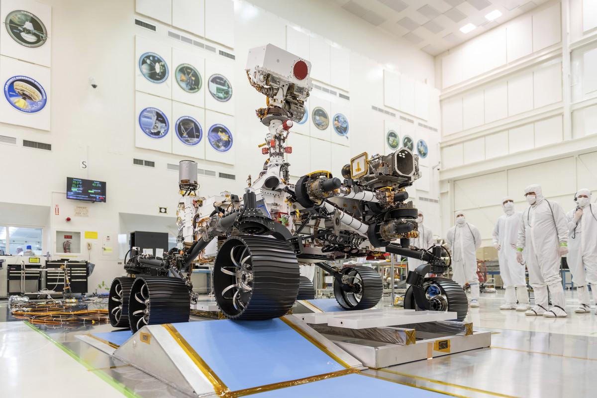NASA names new Mars rover Perseverance