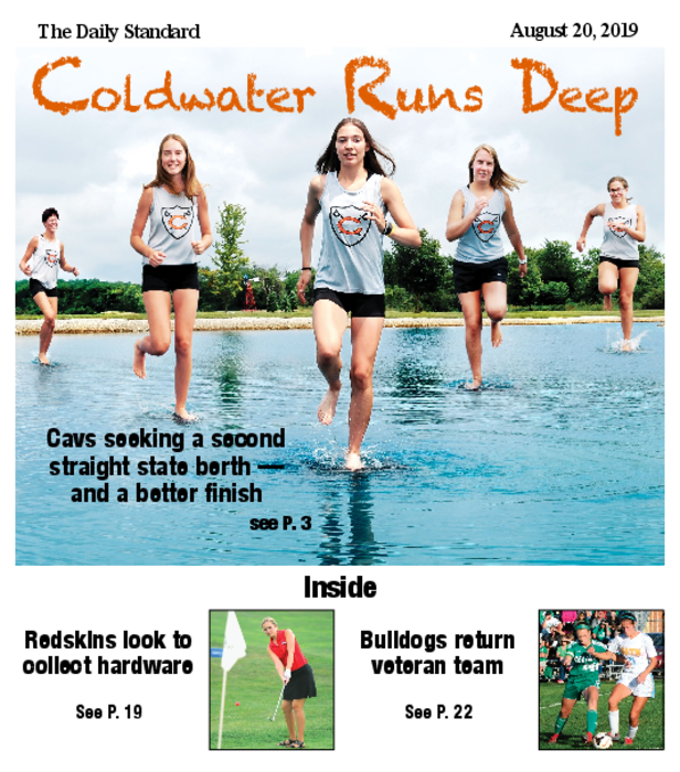 Fall Sports Cross Country, Golf, Soccer, Tennis 2019-08-20