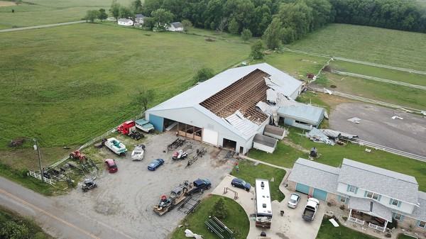 Celina Memorial Day Tornado 2019 The Daily Standard
