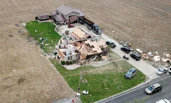 Memorial Day Tornado In Rural Mercer County Photo Album The