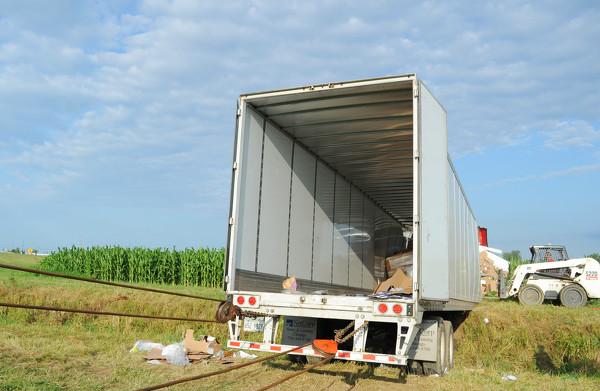 semi-trailer truck accident on Ohio 29 Photo Album | The Daily Standard